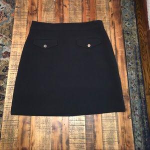 Ann Taylor LOFT Like New black skirt high-waisted!